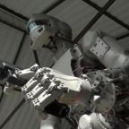 Russia sends gun-toting humanoid robot into space