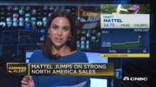 Mattel beats revenue expectations, First Solar reports EP...