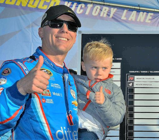 Kevin Harvick Answers Questions About NASCAR and His Son, Who Needed to Pee
