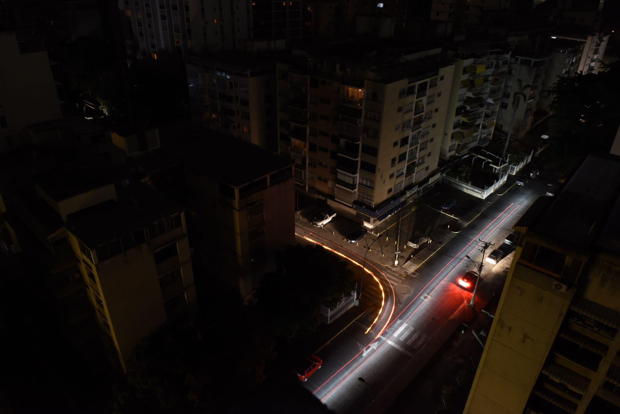 As Venezuela's Lights Flicker, Guaido Seeks an Opening