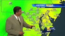 Heat, humidity to lead to possible showers, storms
