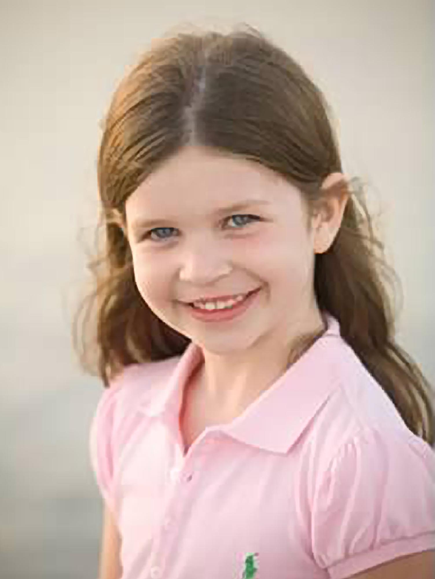 This photo provided by the family shows Jessica Rekos. Rekos, 6, was killed Friday, Dec. 14, 2012, when a gunman opened fire at Sandy Hook Elementary School, in Newtown, Conn., killing 26 children and adults at the school, before killing himself. (AP Photo/Courtesy of Rekos Family)