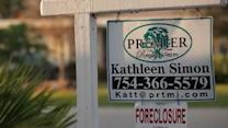 Fewer homes entered foreclosure track