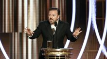 Ricky Gervais attacks Hollywood in bleeping Golden Globes monologue