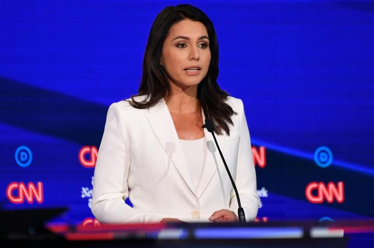 Clinton implies Russia wants Gabbard as 3rd-party candidate
