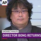 ShowBiz Minute: John, Bong Joon-ho, US Box Office