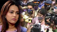 Swara Bhaskar Angry Reaction On Rhea Chakraborty Mobbed By Media