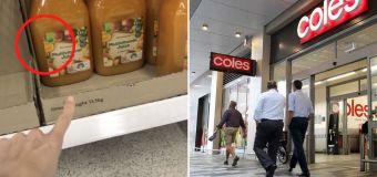 Coles shopper baffled by detail on bottle of juice