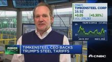 TimkenSteel CEO: Why I support the tariffs