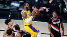 James and Lakers advance with 131-122 win over Trail Blazers