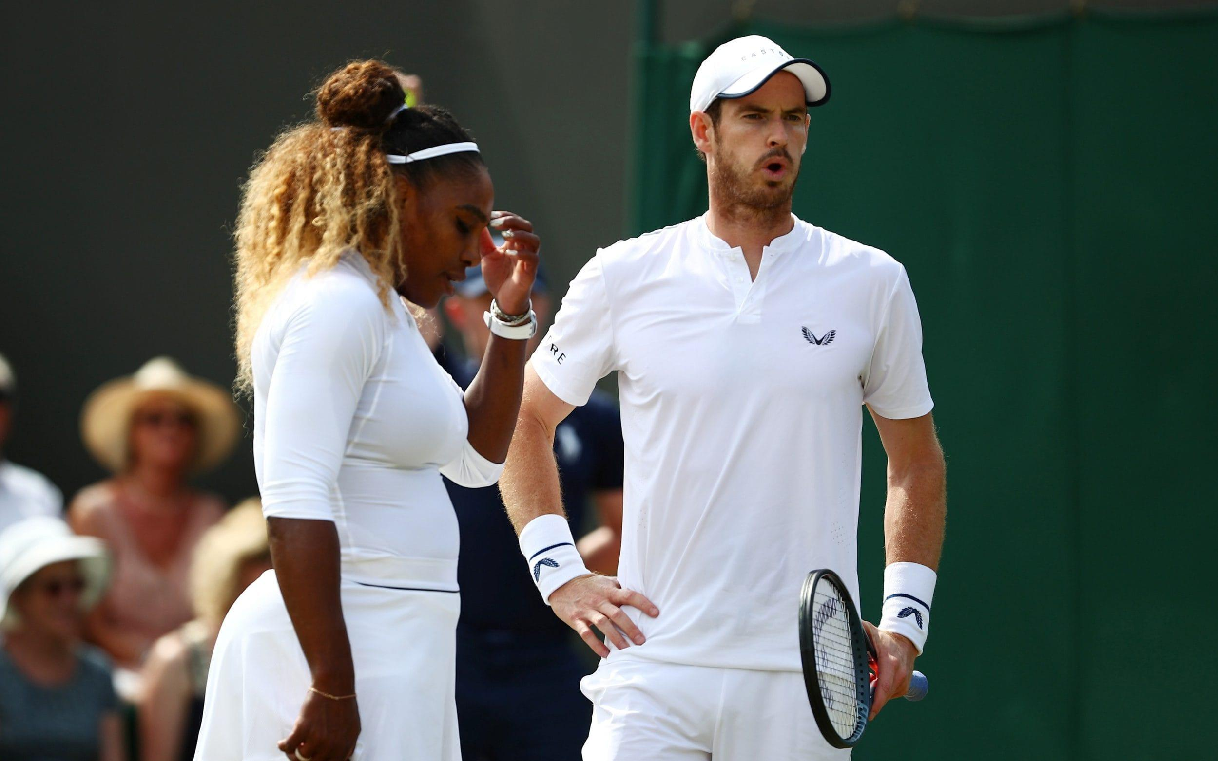 Andy Murray and Serena Williams knocked out of Wimbledon by top seedsBruno Soares and Nicole Melichar