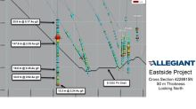 Allegiant Discovers Bonanza Gold and Silver Grades at Eastside