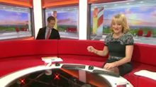 BBC Breakfast presenter loses new £1 coin behind sofa