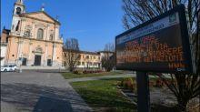 Italien isoliert ein Dutzend Städte wegen Coronavirus-Ausbruch