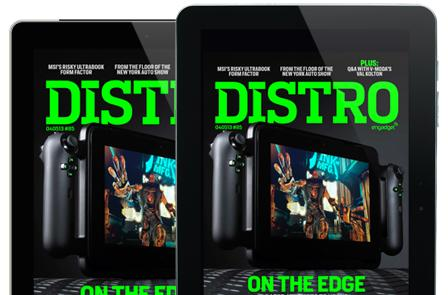 Distro Issue 85: Does the Razer Edge have enough muscle to upend portable gaming?