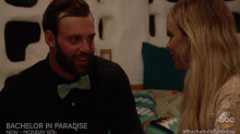 'Bachelor in Paradise' first look: Robby and Amanda's awkward 'anonymous' conversation