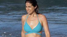 Fichado el bikini con el que Isabel Jiménez luce tipazo ¿premamá?