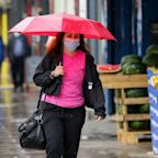 Britain set for one of wettest Mays on record as pubs and restaurants are allowed to reopen indoors