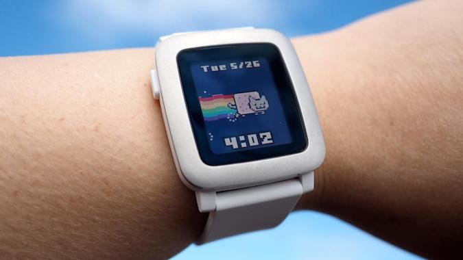 You can now pre-order the Pebble Time smartwatch for $200