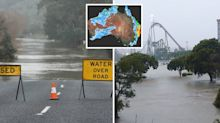 Deluge causes road closures as Queensland faces 'life threatening' flooding