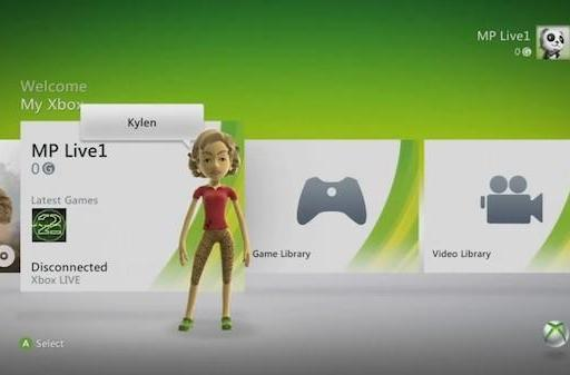 Leaked Xbox 360 dashboard gets demonstrated on video