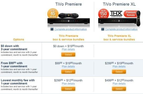 TiVo Premiere now free on contract for $20 monthly, as TiVo introduces (and enforces) tiered subsidies