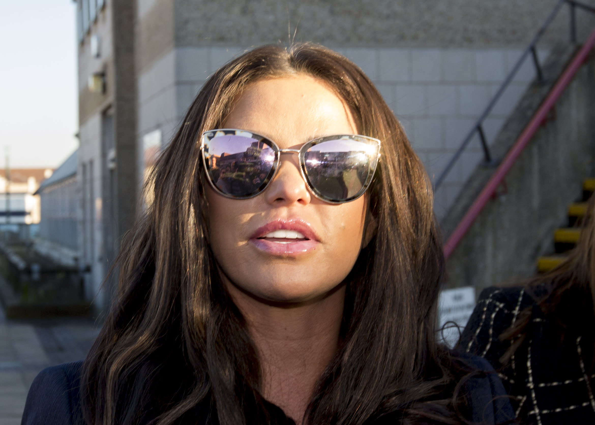Katie Price Is Lucky To Be Alive After 25ft Holiday Fall