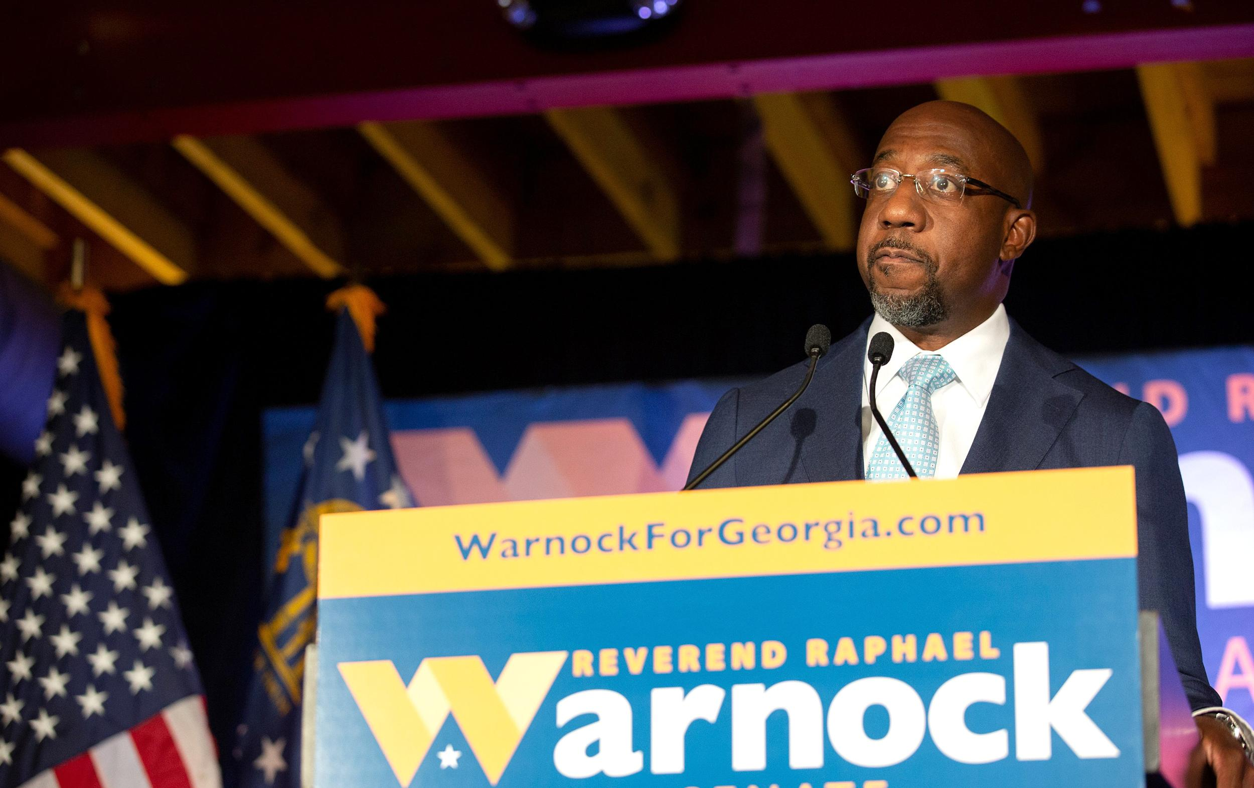 Raphael Warnock gears up for a Senate race as the nation watches