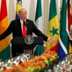 Donald Trump tells African leaders his friends 'are going to your countries to get rich' and praises made-up nation 'Nambia'