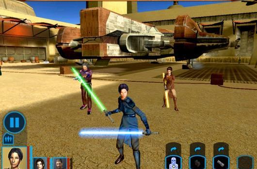 KOTOR finds the Androids you've been looking for