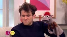 Harry Potter's Dudley Dursley – AKA Harry Melling – Shows Off Stage Puppet