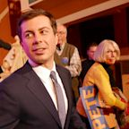 On an upswing, the Pete Buttigieg show rolls through New Hampshire