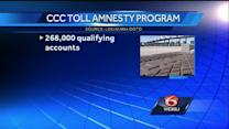 Less than 10 percent of drivers particpated in CCC amnesty program