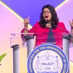 """Rep. Rashida Tlaib to NAACP convention: """"You are all the squad"""""""