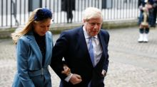 UK PM Johnson's pregnant fiance had COVID-19 symptoms but on the mend