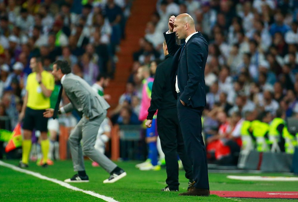"""Zidane: """"Wir konnten das Spiel nicht kontrollieren"""""""