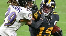 Tell me about the time JuJu Smith-Schuster was nearly a Baltimore Raven