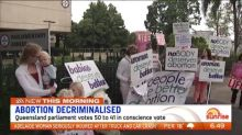 Queensland legalises abortion