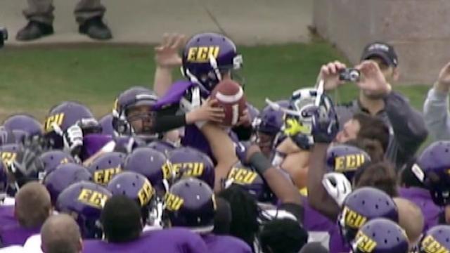 8-Year-Old With Neurofibromatosis Scores TD for East Carolina