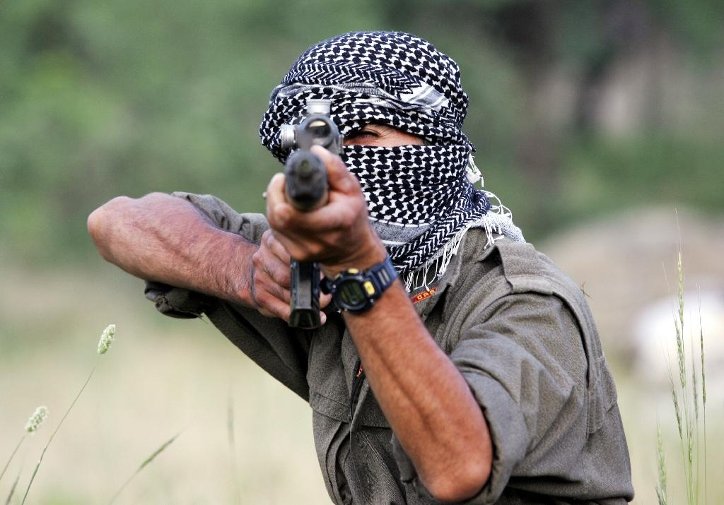 More than 40,000 people have been killed since the PKK began its armed struggle for an independent Kurdish state in 1984 (AFP Photo/Mustafa Ozer)