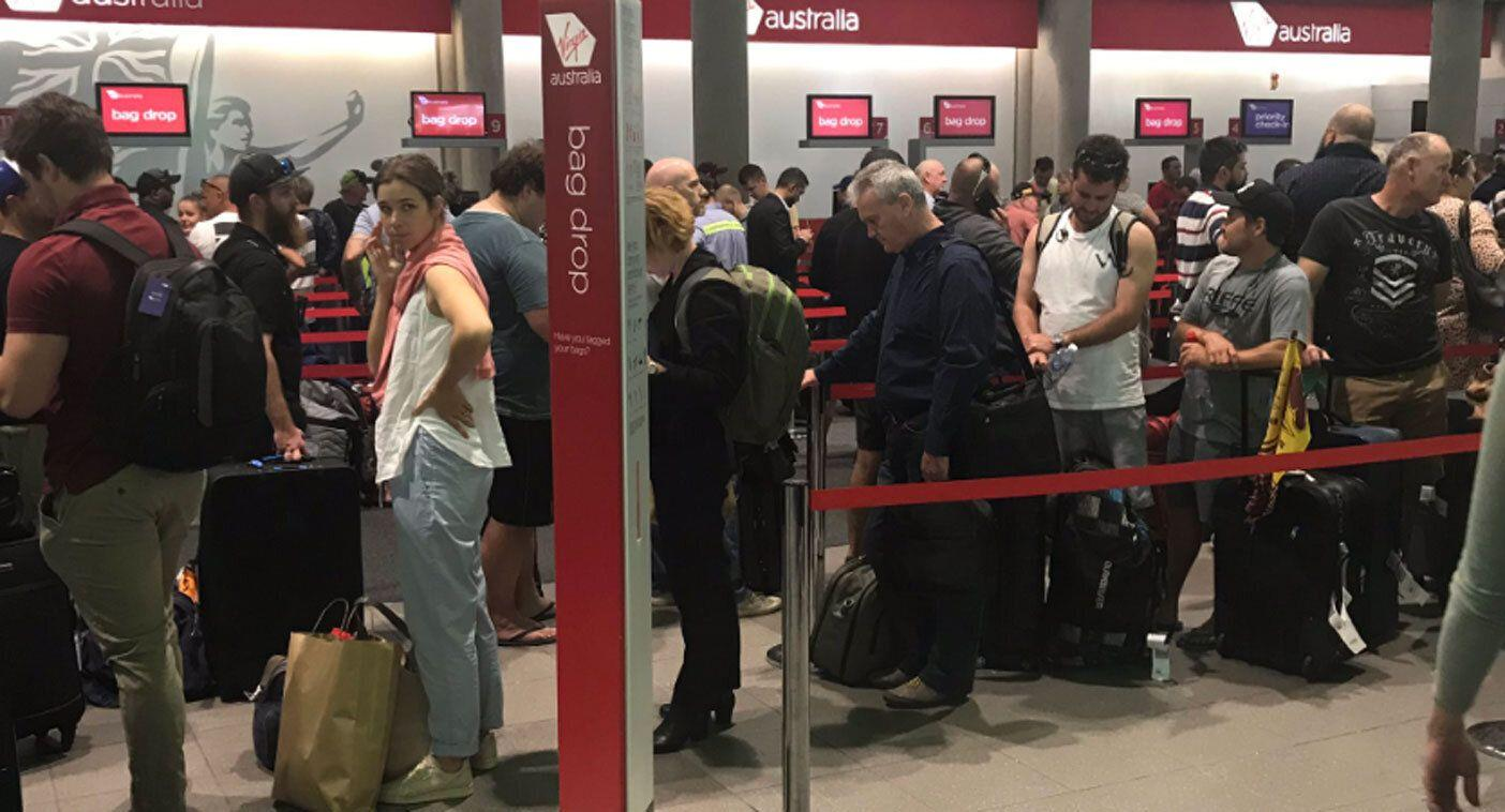 Virgin flights delayed due to technical glitch