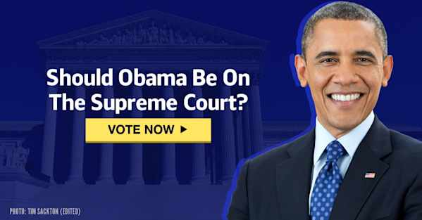 Should Obama Be On The Supreme Court?