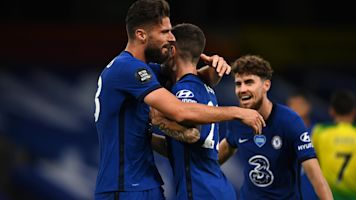 Giroud, Pulisic keep Chelsea on pace for top 4