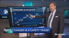 The classic safety trades are rallying, but one technicia...