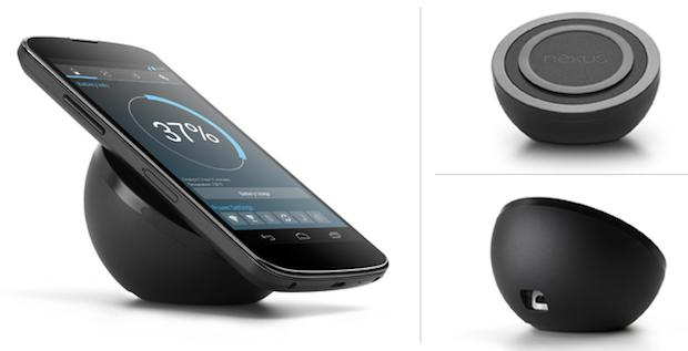 Nexus 4 wireless charger now on sale for $60 at Google Play Store (update)