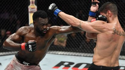 Uriah Hall had to face his fears to fight