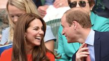 8 Times Cameras Caught Kate Middleton and Prince William Being Totally in Love at Sporting Events
