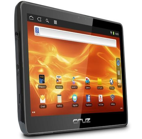Velocity Micro Cruz T410 Gingerbread tablet will run you a penny under $300