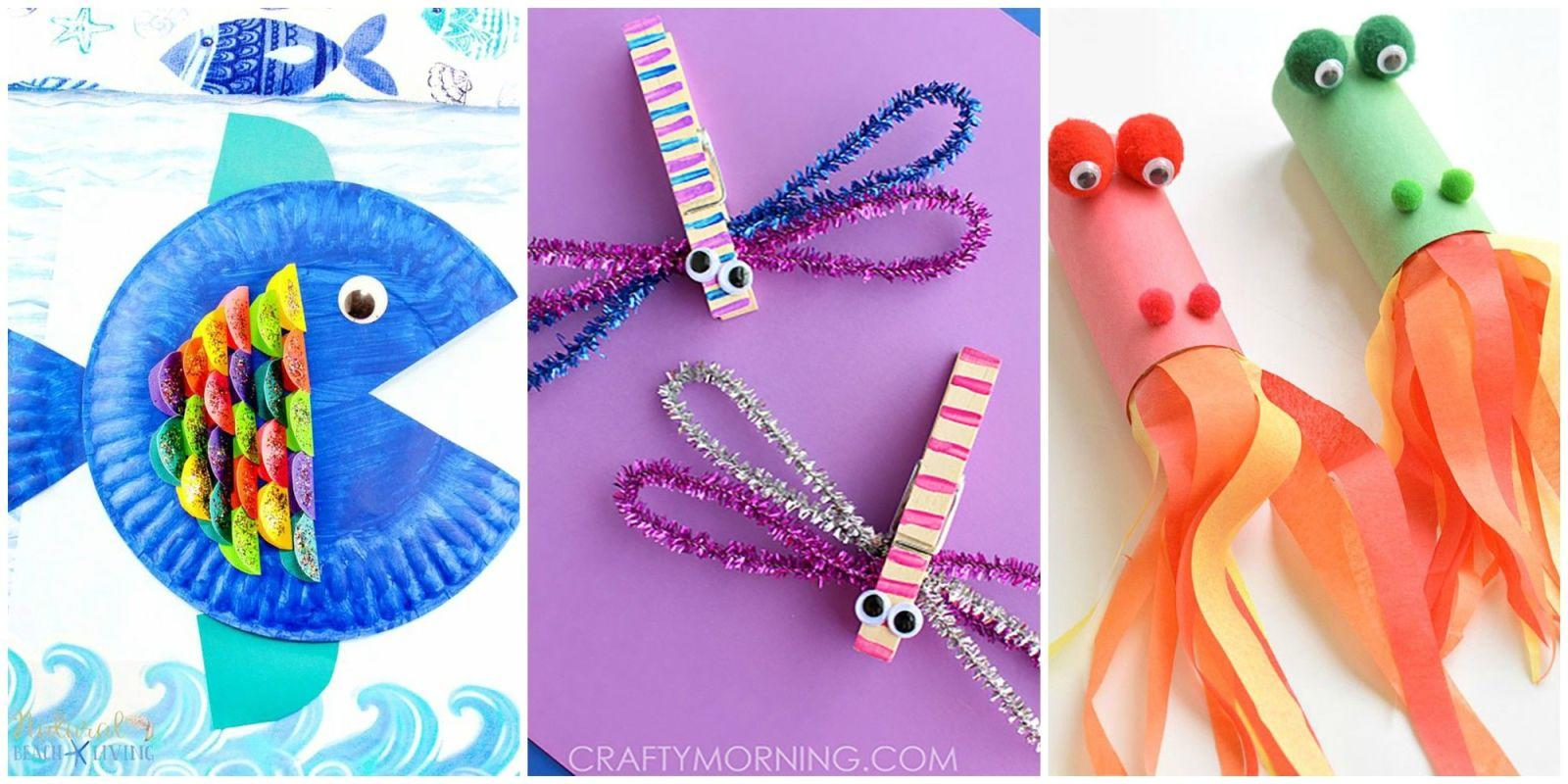 diy craft ideas for kids 10 easy crafts for that will brighten up rainy days 6457