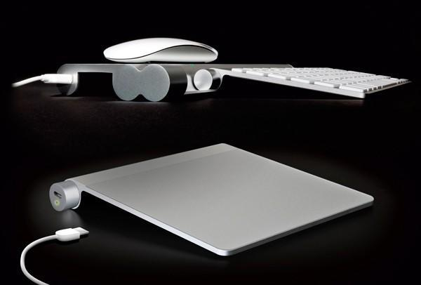 Mobee's Magic Feet and Power Bar juice up Mac peripherals, no more battery swapping for you
